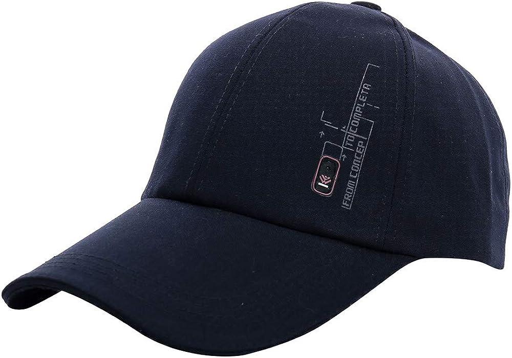 Gorra de béisbol Hombre, Sombreros de Moda para Mujeres Casquette For Choice Outdoor Golf Sombrero para el Sol Sombrero de Lengua Sombrero de Hip Hop Visera ...