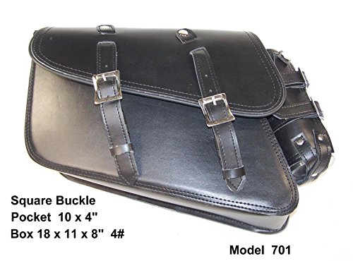 Custom Motorcycle Solo Bags - 3