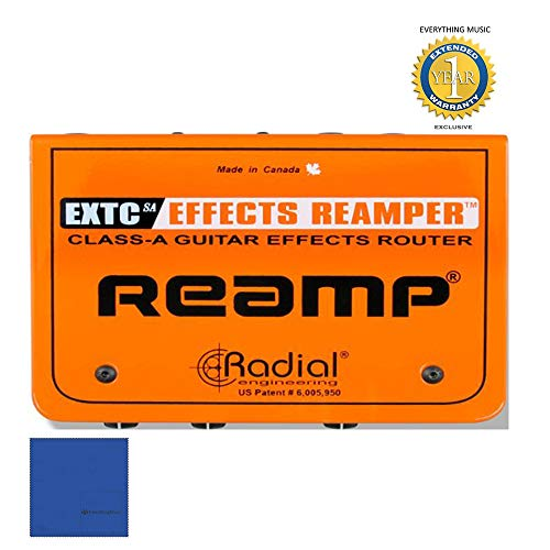 Radial Engineering R800 1420 EXTC-SA Guitar Effects Reamp Interface with 1 Year Free Extended Warranty