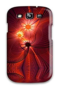 Galaxy S3 Shapes Abstract Print High Quality Tpu Gel Frame Case Cover by icecream design