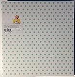 Office by Martha Stewart 1'' Binder 11 1/4 X 1 5/8 X 11 1/2, 3-Ring, Printed Stripes (28797) (Poka Dots Aqua (28871))