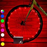 My-My Gifts for 5-14 Year Old Girls Boys, Bike Wheel Lights for Kids Toys for 5-14 Year Old Boys Toys for 5-14 Year Old Girls Cool Toys Red MMUKDCD04
