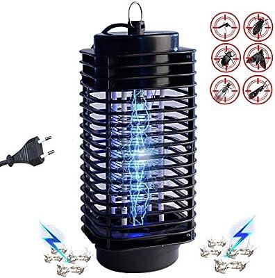 Huttoly UV Insektenschutz Elektrisch Mückenlampe, Elektrischer  Insektenvernichter Schutz vor Elektrischem SchlagTragbare Insektenlampe  gegen Mücken, ...