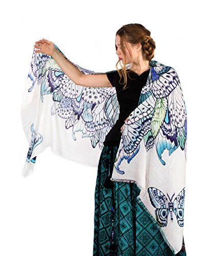 Butterfly Cashmere Scarf Perfect Wedding