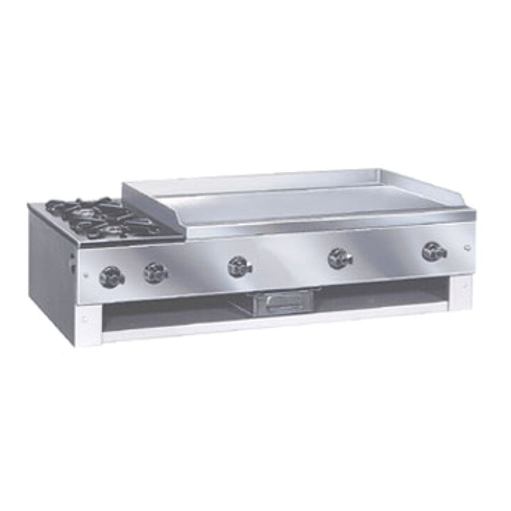Comstock Castle 10201 Countertop Hot Plate & Griddle Combo Unit