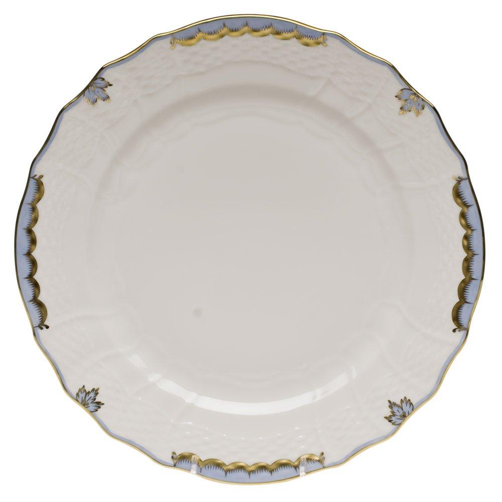 Herend Princess Victoria Light Blue Service Plate