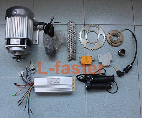 48ボルト750ワットブラシレスモーター電動三輪車richshaw motor kit 750ワットブラシレスモーターキット三輪バイク [並行輸入品] B07968CNT5