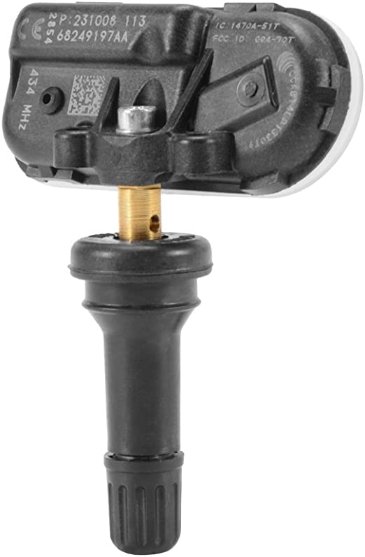 Kreema 4Pcs 68249197AA Capteur de pression des pneus pour 2014-2017 Dodge Ram 1500 2500 3500 JEEP Cherokee