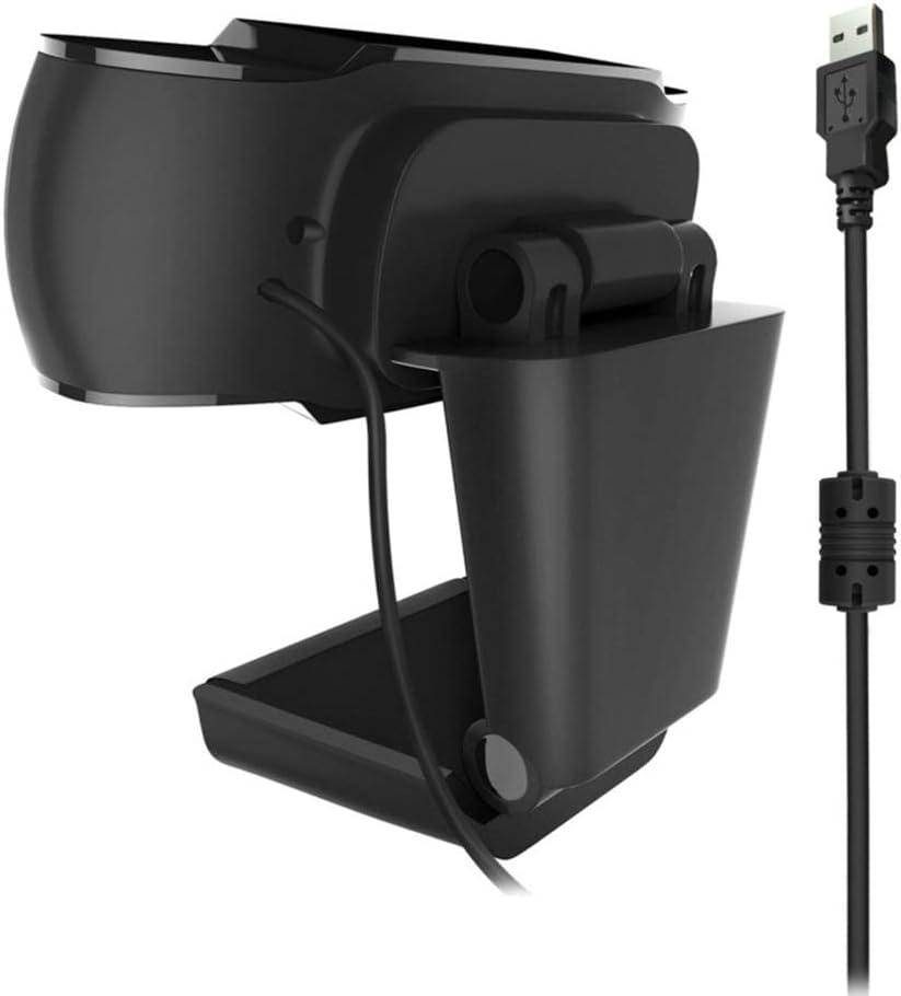 Manual de la c/ámara HD Conferencia Centr/ándose ac/ústica del micr/ófono FJJ HD Streaming Webcam