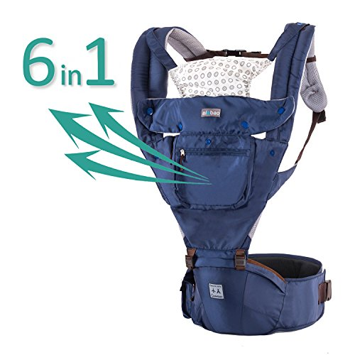 76fb1788e37 Aiebao Baby Carrier 360 All Carry Positions Ergonomic Breathable Forward  Facing Child Carrier Sling for Infants and Toddler (3-36 Months)