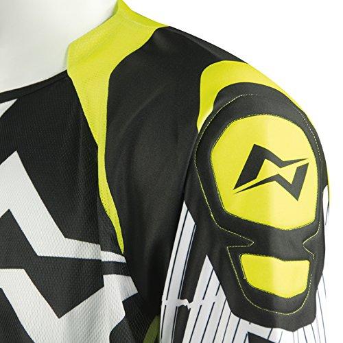 taglia XL Mots mt2105/X LY Trial Rider maglietta giallo fluo