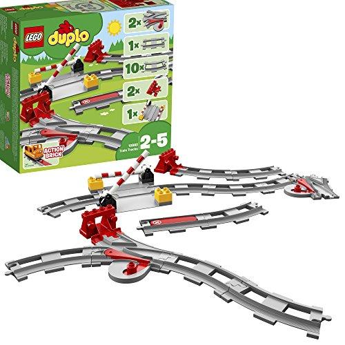 레고(LEGO)듀푸로 놀이가 퍼진! 건널목 레일 세트 10882