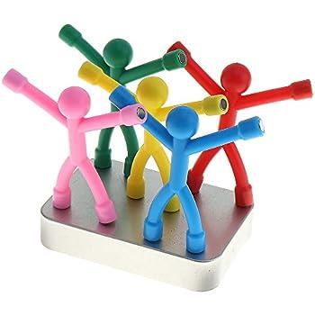 Amazon.com: 10PCS Novelty Mini Man Fridge Magnets ...