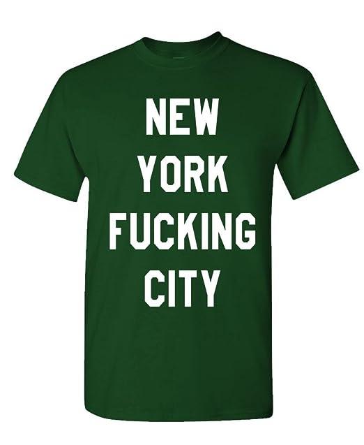 City fucking new shirt t york
