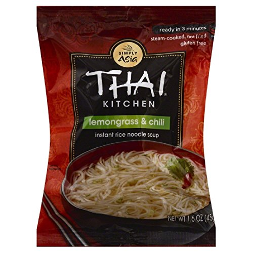 Thai Kitchen Gluten Free Lemongrass & Chili Instant Rice Noodle Soup, 1.6 oz (Pack of 72)