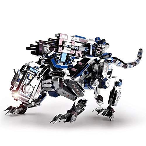 - Microworld 3D Metal Nano Puzzle Mechanical Police Dog Assemble Model Kit D002 DIY 3D Laser Cut Jigsaw Toy
