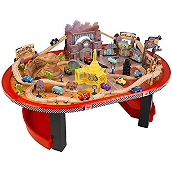 Amazon.com: Step2 Deluxe Canyon Road Train & Track Table ...
