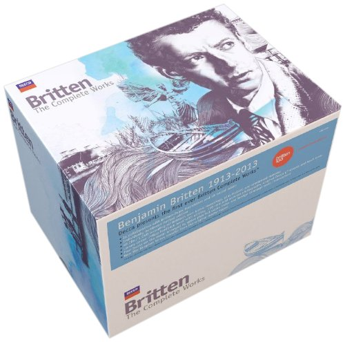 Britten: The Complete Works [65 CD/DVD Combo]