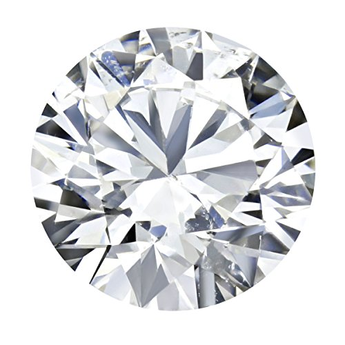 GIA Certified Round Natural Loose Diamond ( Carat: 1.05 , Color: H, Clarity: I1 )