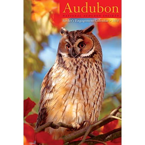"""Audubon Birder's Engagement Planner Calendar 2018 [6"""" x 9""""] free shipping"""
