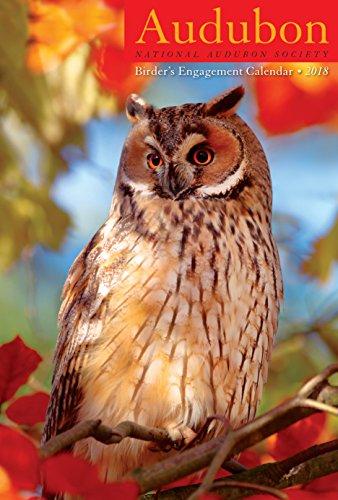 """Audubon Birder's Engagement Planner Calendar 2018 [6"""" x 9""""]"""