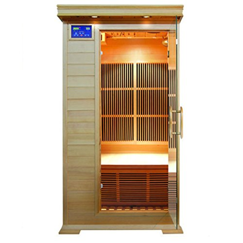 SunRay Barrett 1-2 Person Infrared Sauna by Sunray