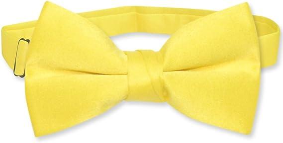 Solid Golden Yellow Boys Necktie
