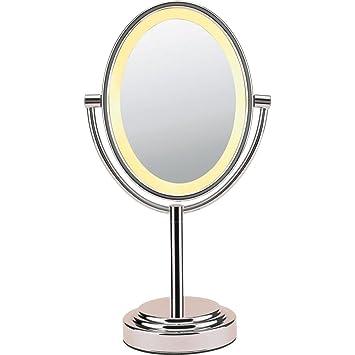 Conair double sided oval illuminated mirror