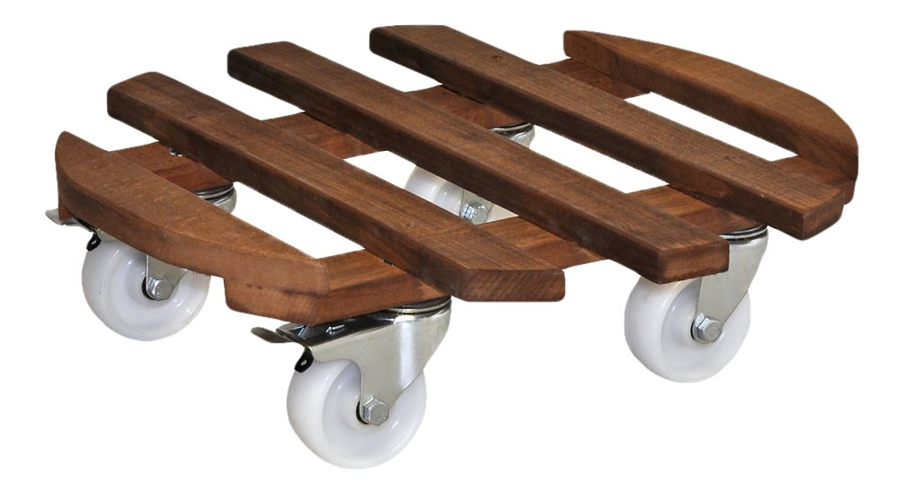 Wagner System 20087101 Multi-Roller Gigant Gardening Wagon, Brown