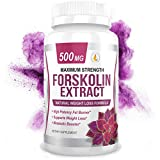 Best Forskolin Supplements - PREMIUM FORSKOLIN EXTRACT, 500mg - 60 Capsules w/ Review