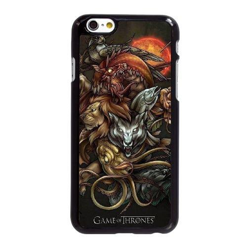 U5C31 Game of Thrones E9I7CF coque iPhone 6 4.7 pouces cas de couverture de téléphone portable coque noire KJ1STD1GW