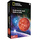 NATIONAL GEOGRAPHIC Glow in the Dark Mars and Stars (Improved Glow as of Aug. 2016!)