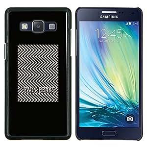 Stuss Case / Funda Carcasa protectora - Tv Series Patrón Minimalista Blanca - Samsung Galaxy A5 ( A5000 ) 2014 Version