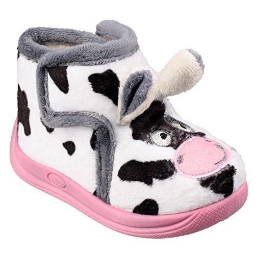 Mirak , Mädchen Hausschuhe Kuh