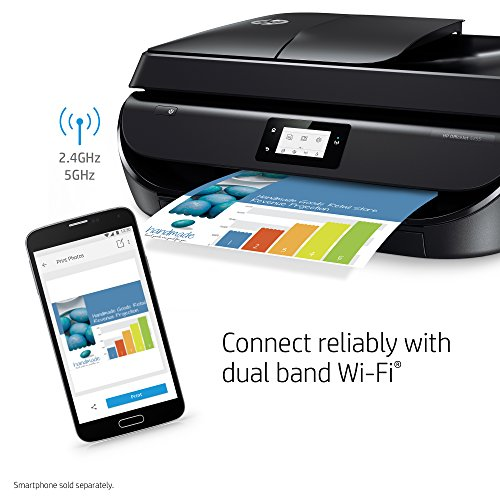 Large Product Image of HP OfficeJet 5255 Wireless All-in-One Printer, HP Instant Ink & Amazon Dash Replenishment Ready (M2U75A)