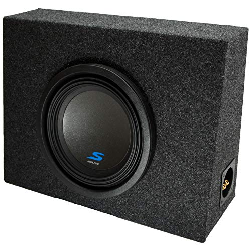 Universal Regular Standard Cab Truck Alpine S-W10D4 Type S Car Audio Subwoofer Custom Single 10″ Sub Box Enclosure Package New