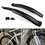 Areyourshop 26 inch Mountain Road Cycle Bike Bicyle Front & Rear Tire Mudguards Fenders Set Kit