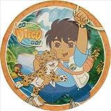 Amscan Go Diego Go! Dinner Plates - 8 ct