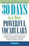 30 Days to a More Powerful Vocabulary, Wilfred Funk and Norman Lewis, 067174349X