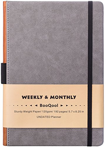 """UNDATED Weekly & Monthly Planner - Academic Planner with to-DO List, 4 Weeks/Month, 48 Weeks, 5.75"""" x 8.25"""""""