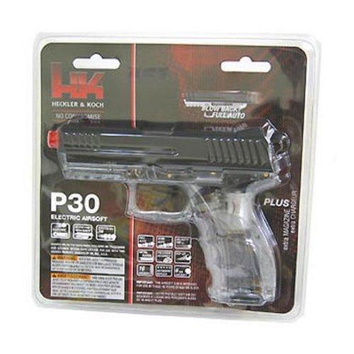 H&K P30 Clear Electric Airsoft Pistol airsoft gun ()