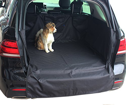 "INNX Cargo Cover Cargo Liner-OP903004 (2018 Popular Design) Universal for Ford,Jeep,Trucks,Chevrolet,Pickup,Dogs,Pets, Waterproof Heavy Duty and Nonslip, Size 59""L x 47""W x 17.7″ H For Sale"