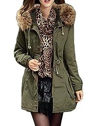 Amazon.com: Greens - Fur & Faux Fur / Coats, Jackets