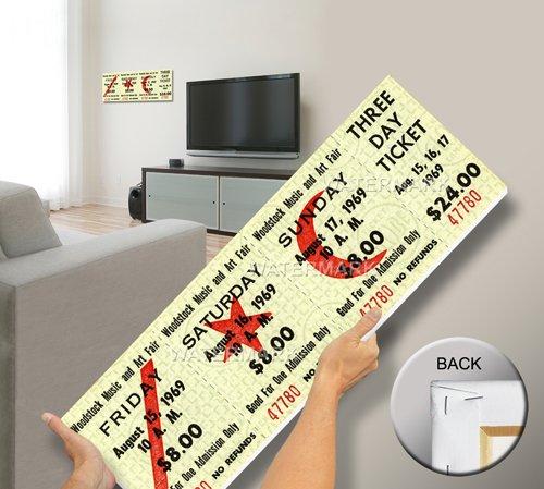 1969 Woodstock Three Day Mega Ticket