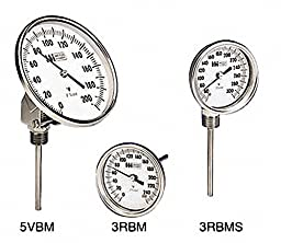 Weiss Instruments, Inc. 3RBM25200 3 DIAL THERM RECAL 0/200F