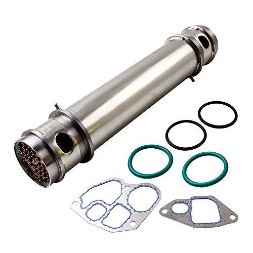 (maXpeedingrods Oil Cooler Kits 1C3Z-6A642-AA for 1994.5-2003 Ford E/F Series with V8 7.3L 445CU Diesel Engine)
