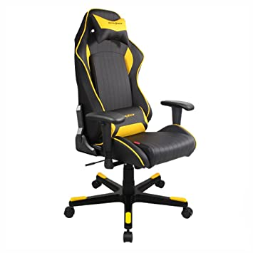 dxracer drifting series dohdf51ny newedge edition racing bucket seat office chair gaming amazing yellow office chair