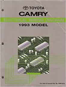 Electrical Wiring Diagram for 1993 Toyota Camry: Toyota ...