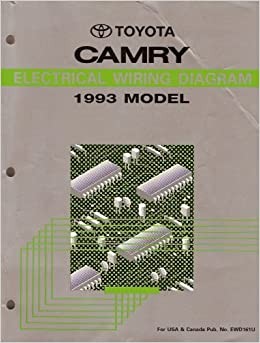 electrical wiring diagram for 1993 toyota camry: toyota motor corporation:  9780092073304: amazon com: books