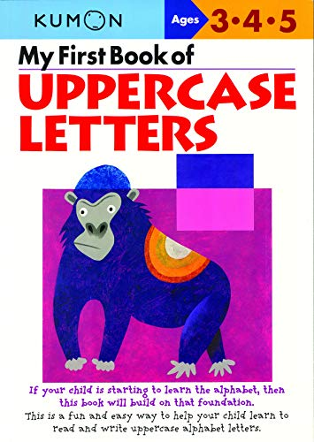My First Book Of Uppercase Letters (Cut And Paste Math Worksheets For First Grade)